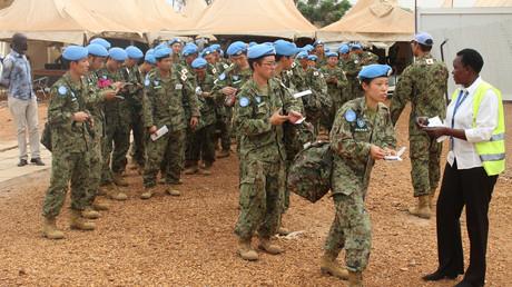 قوات حفظ السلام اليابانية تنسحب من جنوب السودان