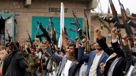 أنصار للحوثيين في صنعاء