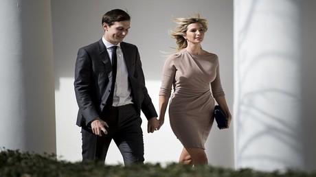 إيفانكا ترامب وزوجها جاريد كوشنر في البيت الأبيض