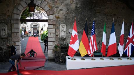 التحضيرات لقمة G7