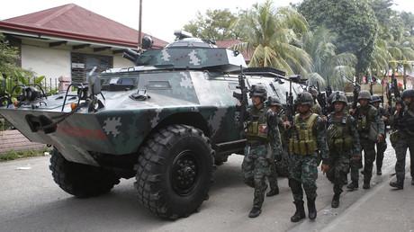 قوات فلبينية في جزيرة مينداناو