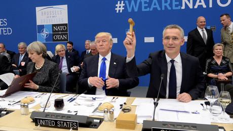الجلسة الختامية لقمة حلف الناتو في بروكسل
