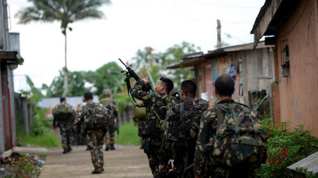 عسكريون فلبينيون في ماراوي