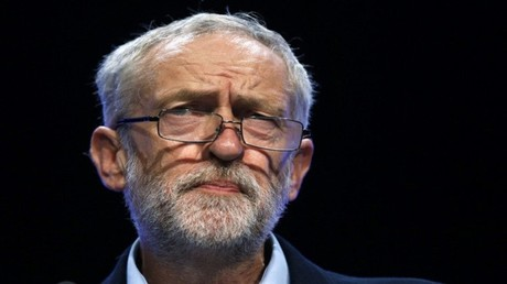 زعيم  حزب العمال البريطاني المعارض، جيريمي كوربين