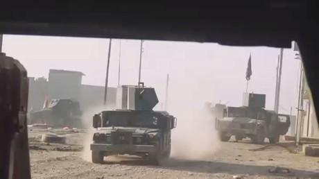القوات العراقية تقتحم 3 أحياء غرب الموصل