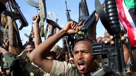 جنود سودانيون - أرشيف