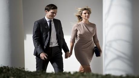 ايفانكا ترامب وزوجها