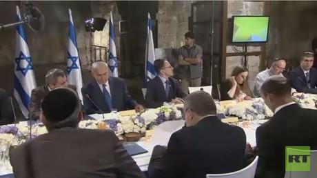 حكومة نتنياهو تجتمع تحت ساحة البراق