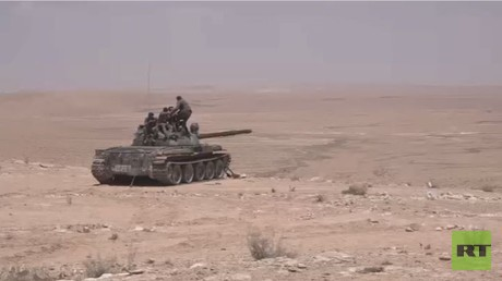 RT تواكب عمليات الجيش السوري بريف حمص