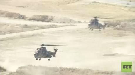 غارات تركية على شمال العراق