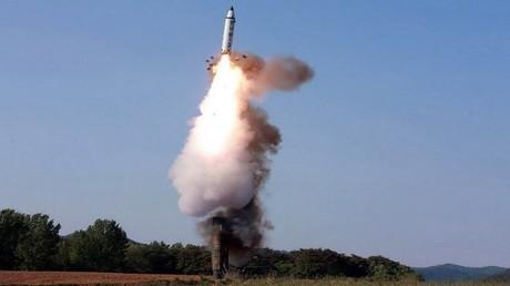 إطلاق صاروخ كوري شمالي (صورة أرشيفية)