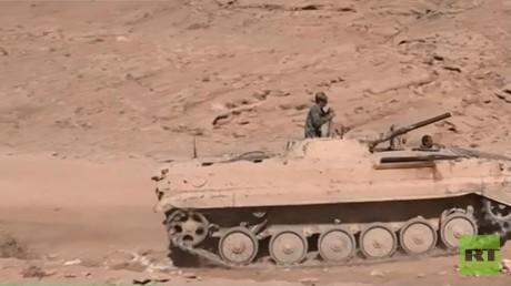 الجيش السوري يواصل تقدمه شرق تدمر
