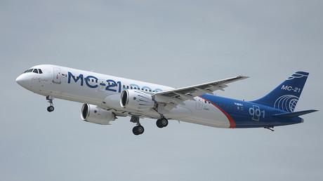 """الطائرة الجديدة من طراز """"MC-21"""""""