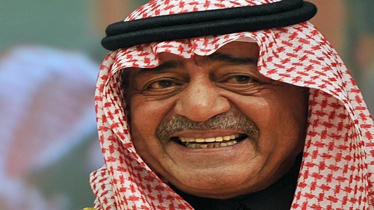 الأمير مقرن يتبرع بدمه على حدود اليمن (صورة)