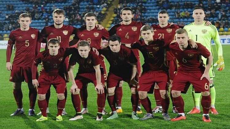منتخب شباب روسيا يسحق نظيره البيلاروسي وديا
