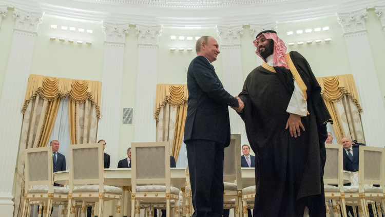 هل حاول محمد بن سلمان إقناع روسيا بدعم