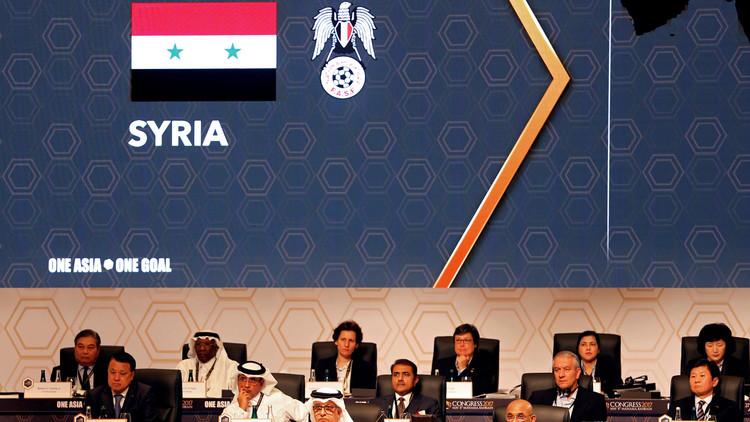 منتخب سوريا يتقدم لأفضل مركز له في تاريخه