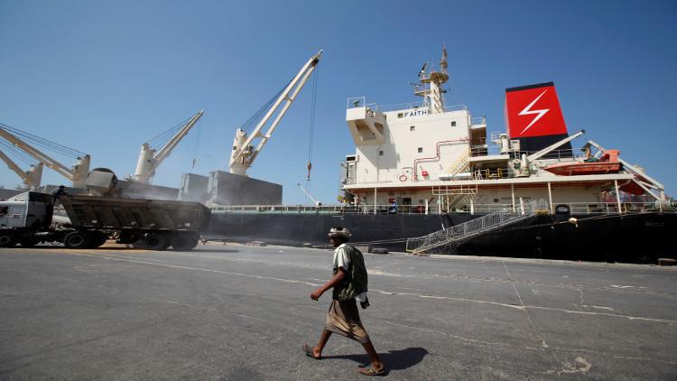 التحالف العربي يرحب بتصريحات المبعوث الأممي بخصوص ميناء الحديدة