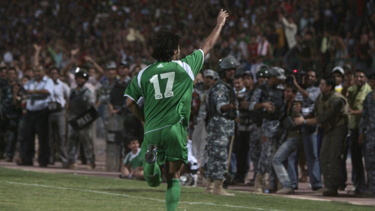 العراق يحتفي بعودته إلى أرضه بفوز ودي على النشامى