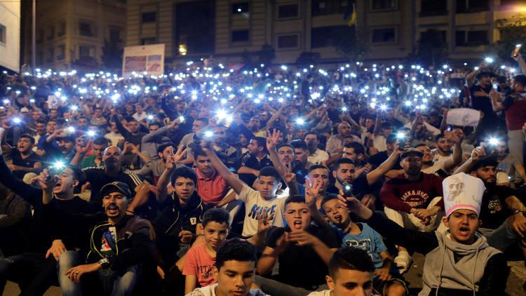 السلطات المغربية تعتقل 40 شخصا مع تواصل الاحتجاجات في الحسيمة
