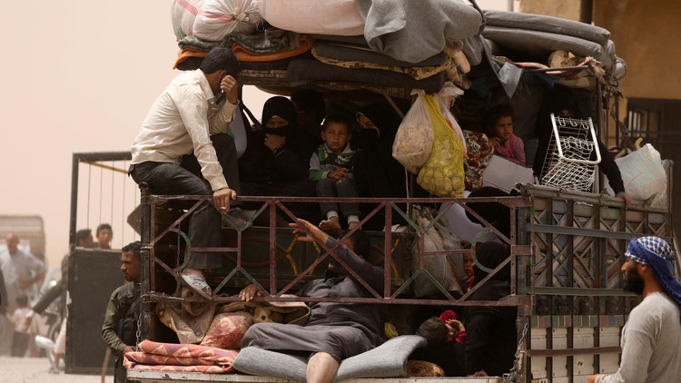 التحالف الدولي: 200 ألف شخص نزحوا من الرقة