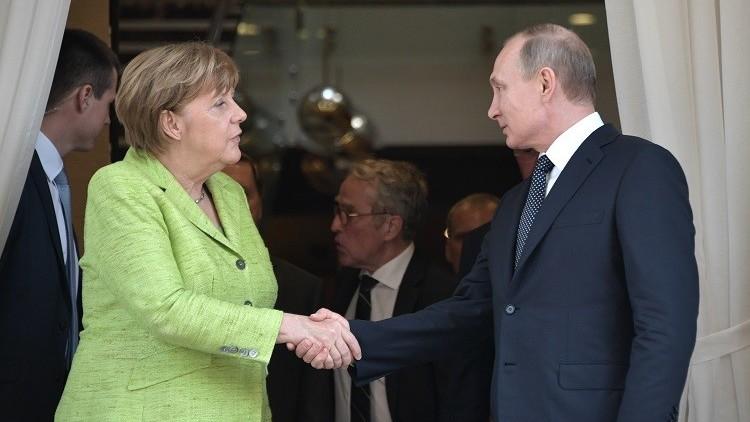 بوتين: تصريحات ميركل تكشف عن الحيف المتراكم!