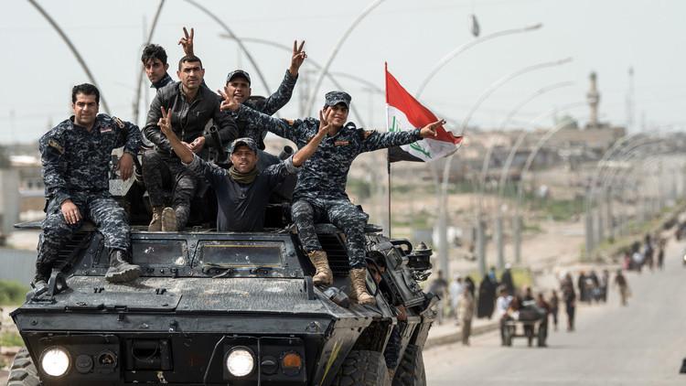 القوات العراقية تعلن تحرير حي الصحة الأولى في أيمن الموصل