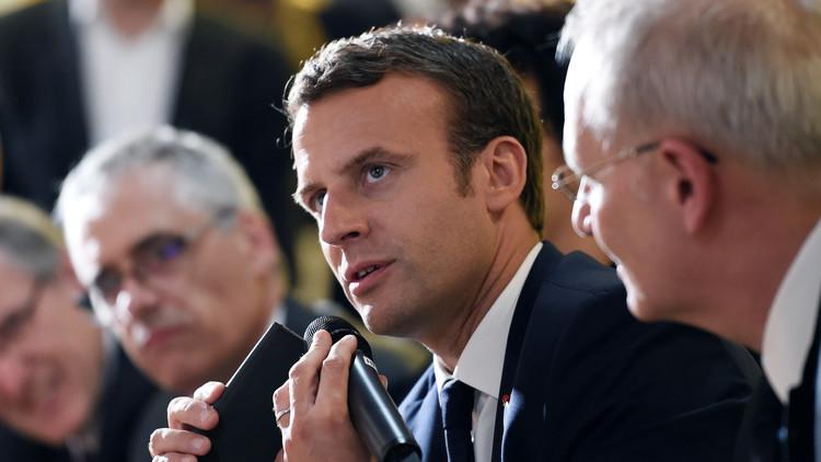 ماكرون: لا تراجع عن اتفاقية باريس للمناخ