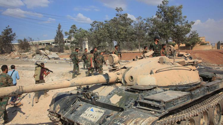 الجيش السوري يستعيد 22 بلدة ومزرعة ويقتل 1200 داعشي بريف حلب الجنوب شرقي