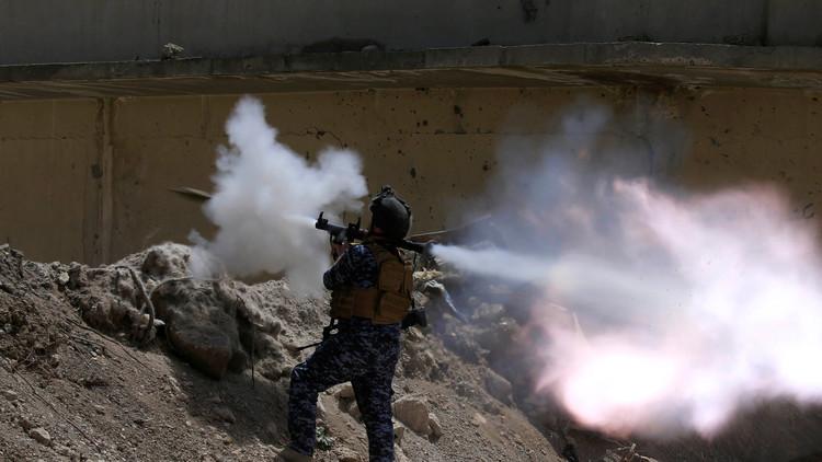 القوات العراقية تتوغل 800 متر في حي الزنجيلي غرب الموصل