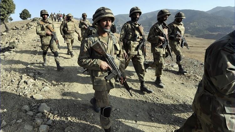 الجيش الباكستاني يعلن عن مقتل خمسة جنود هنود خلال تبادل لإطلاق النار