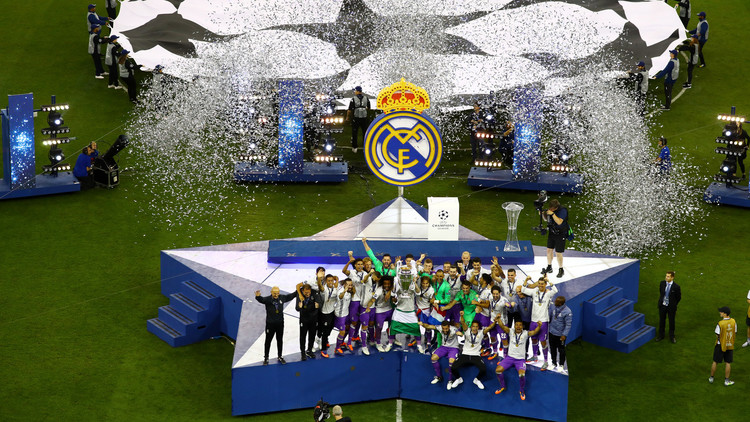 ريال مدريد يهزم يوفنتوس ويحتفظ بلقب دوري أبطال أوروبا