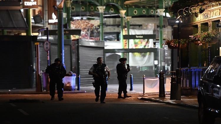 إصابة رجل بالخطأ برصاص الشرطة البريطانية أثناء تصديها لمنفذي هجمات لندن