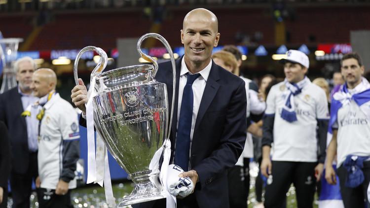 أرقام المدرب زيدان مع ريال مدريد