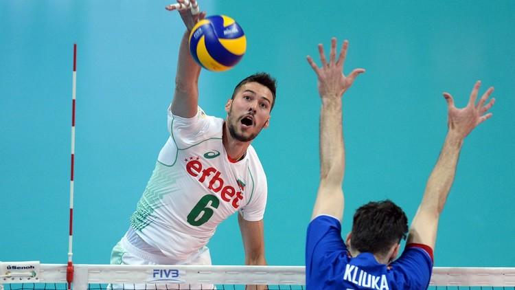 روسيا تخسر أمام بلغاريا في الدوري العالمي بالكرة الطائرة