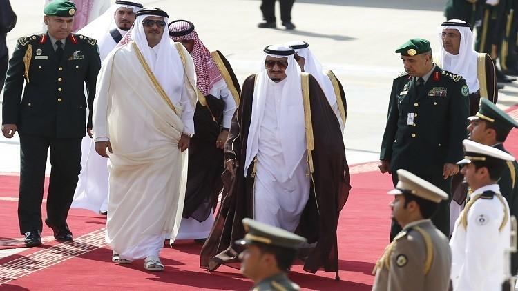 بيان قطع الرياض لعلاقاتها الدبلوماسية مع قطر