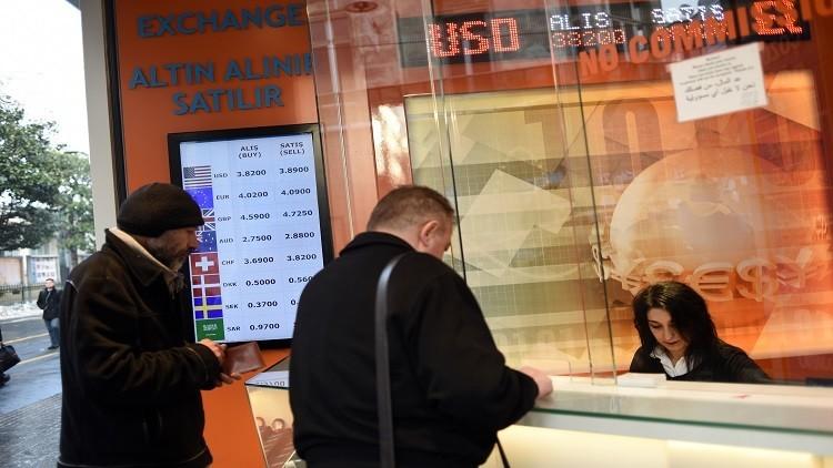 معدل التضخم  في تركيا يستمر بالصعود