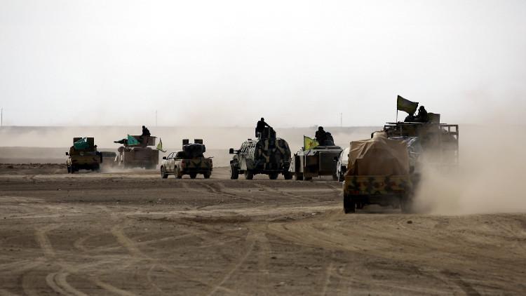 الهجوم على الرقة بدأ. القوات المهاجمة تعلن بدء العملية من الجهات الثلاث