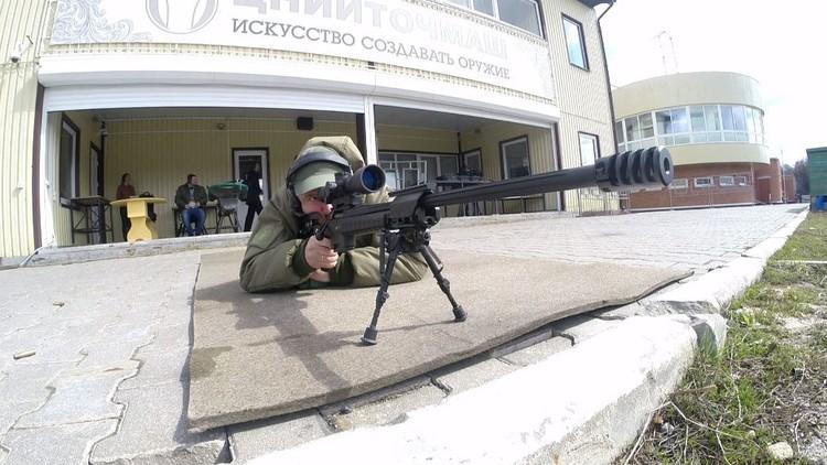 قناصة جديدة اختبرت في مقاطعة موسكو (فيديو)