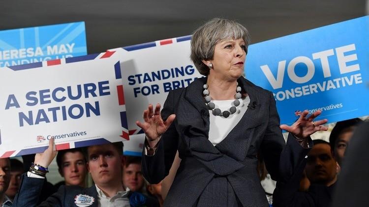 تيريزا ماي: لندن على استعداد لتقليص حقوق الإنسان من أجل محاربة التطرف