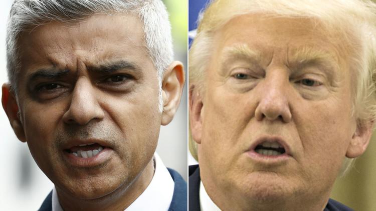 خان لا يرغب برؤية ترامب في بريطانيا