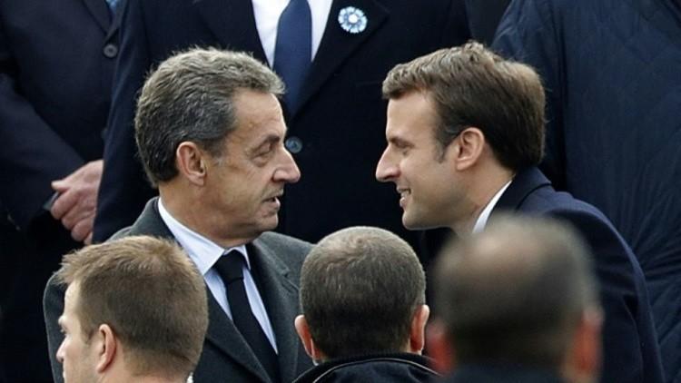 ساركوزي: ماكرون مدهش!