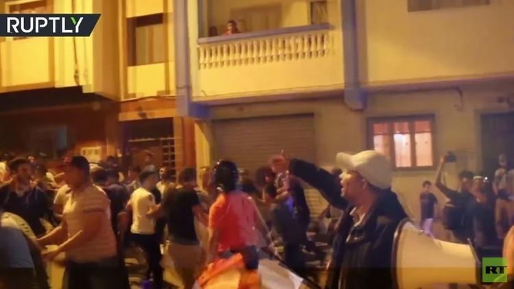 استمرار الاحتجاجات في الحسيمة