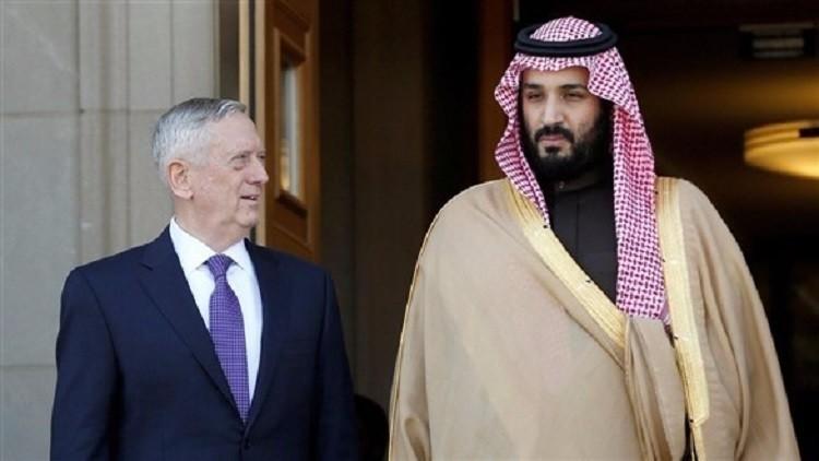 السعودية: محمد بن سلمان يتلقى اتصالا هاتفيا من وزير الدفاع الأمريكي