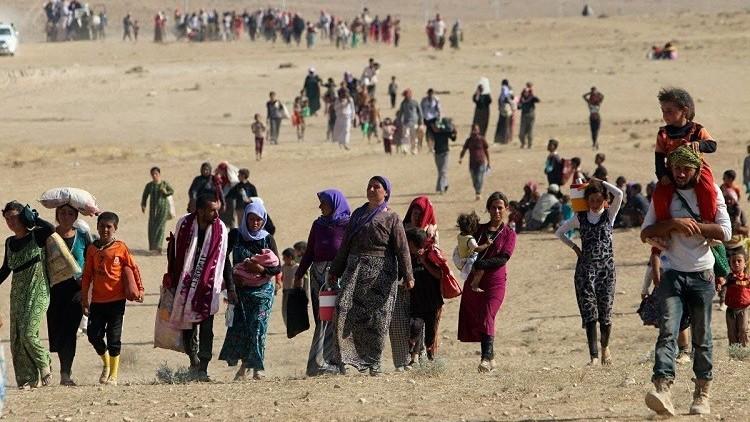 العراق: نزوح 8400 شخص عن الموصل خلال يومين