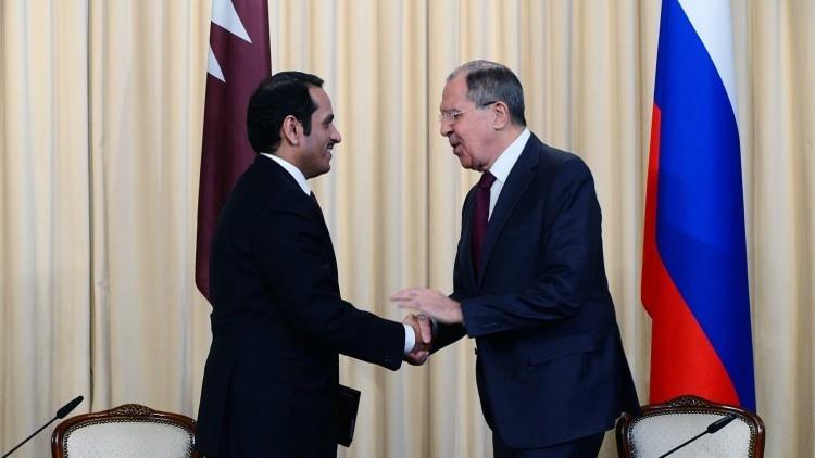 محادثات بين وزيري الخارجية الروسي والقطري السبت المقبل