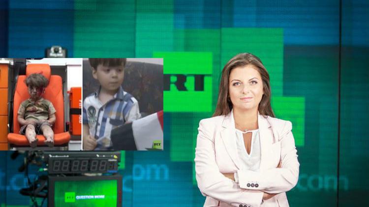 سيمونيان: RT ستزور الطفل عمران في حلب بصحبة من شوه صورته!