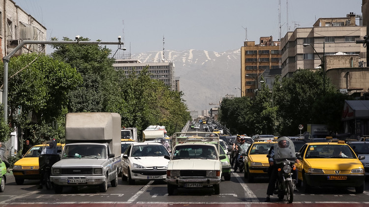 انفجار غامض وسط طهران