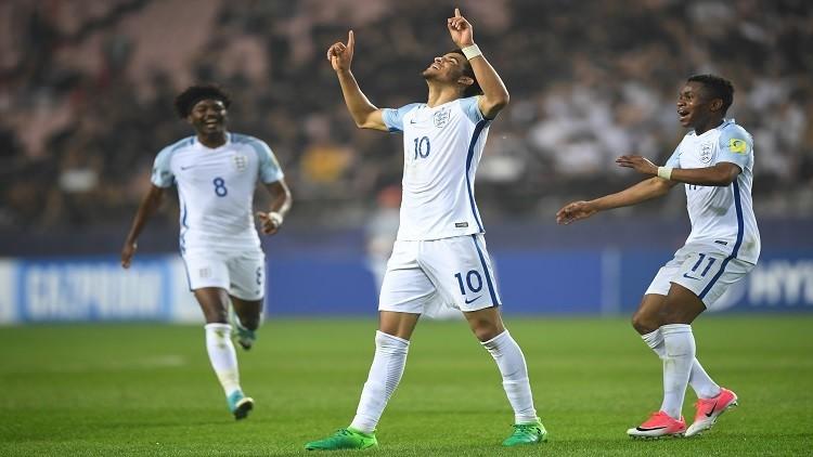 إنجلترا تطيح بإيطاليا وتبلغ نهائي مونديال الشباب