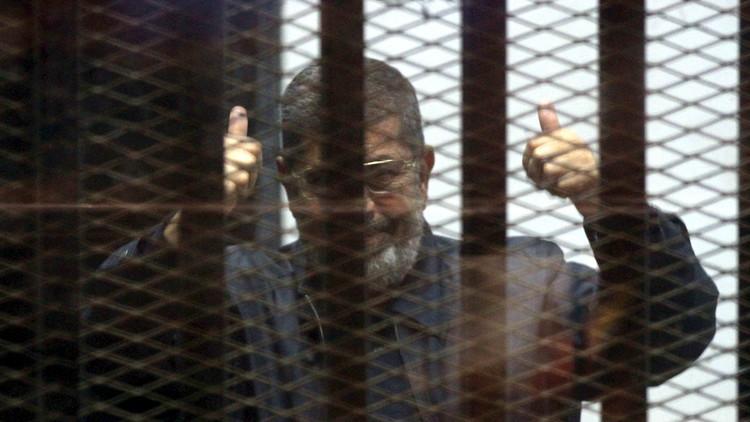 تدهور صحة  الرئيس المصري المعزول محمد مرسي
